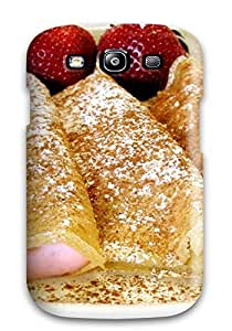 Defender Case With Nice Appearance (pancake Wrapped Ice Cream) For Galaxy S3
