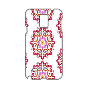 Pink flower pattern 3D Phone For Case HTC One M7 Cover