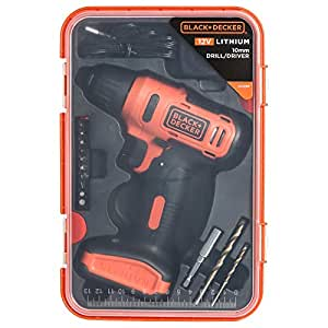 Black & Decker Cordless Driver Dill 12V+13Pcs Accessories BoxLD12SP