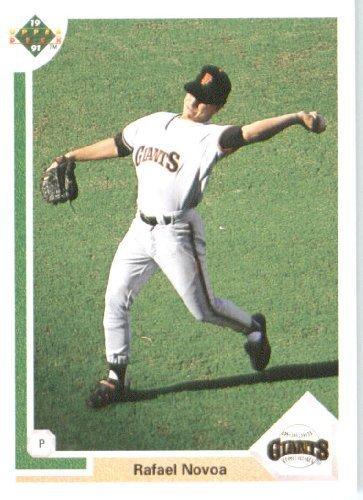 1991 Upper Deck # 674 Rafael Novoa (RC - Rookie Card) San Francisco Giants - MLB Baseball Trading - Rafael San Stores