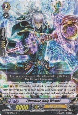 Cardfight!! Vanguard TCG - Liberator, Holy Wizard (BT16/074EN) - Booster Set 16: Legion of Dragons & Blades ver.E by Cardfight!! Vanguard TCG Bushiroad Inc.