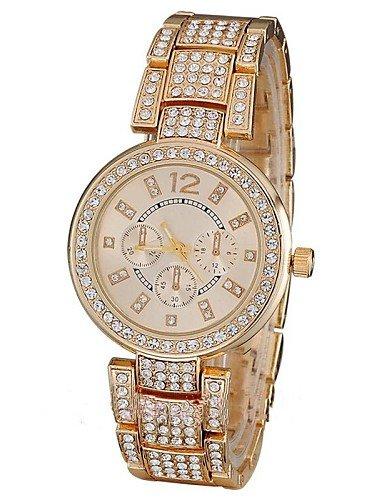 sbsghdx® famoso Marca Relojes mujeres de lujo Mode lässige - Reloj de pulsera de mujer de cuarzo reloj de mesa Reloj Reloj mujer Montre: Amazon.es: Relojes