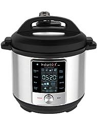 Instant Pot 60 Max 6 Quart Electric Pressure Cooker, Silver