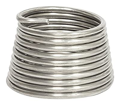 Jack Richeson Armature Wire 1/4 Inch (.25) 10', 10Ft, Silver by Jack Richeson & Company, Inc.