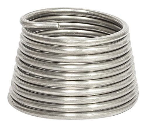 Jack Richeson JACK-400360 Armature Wire 1/4 Inch (.25) 10', 10Ft, Silver (Bendable Metal)