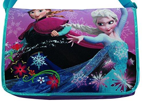 Disney Frozen Exclusive Queen Elsa & Princess Anna Laptop/Messenger Bag with Bonus Gift of Word Search Puzzles