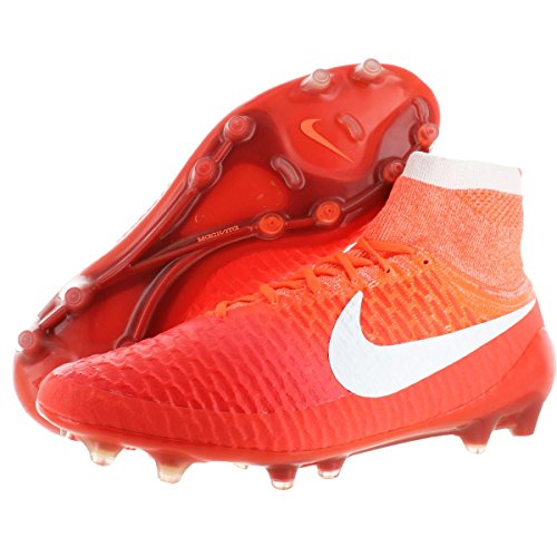 Bright Magista Embossed Nike Womens FG university Red White Crimson Cleats Soccer OBRA q0x4xXp