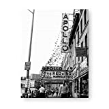 Photos by Getty Images The Apollo Theater in Harlem. Otis Redding, Billy Stewart an - Canvas, Gallery Wrap, 30x40