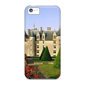 New Chateau De Langeais France Tpu Case Cover, Anti-scratch IcRam11520HLhPb Phone Case For Iphone 5c