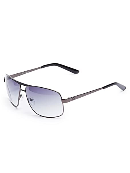 Amazon.com: G By Guess Hombre Metal Aviator anteojos de sol ...