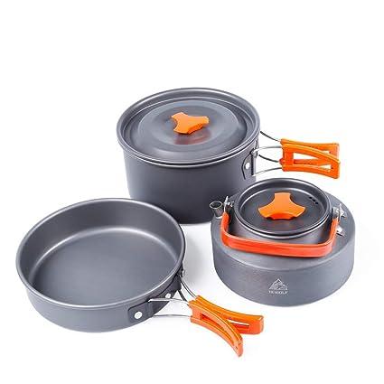 Camping Cookware Bowl Pan Pot Gripper Clip Handle Anti-scald Tong Aluminum Alloy