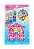 royal nail dryer reviews TownleyGirl Disney Princess Sparkly Lipstick for Girls, 3 Pack with Carriage Storing Case, 4 CT