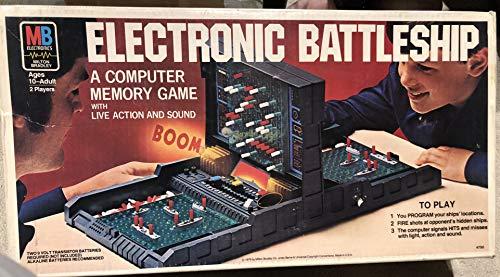 Electronic Battleship 1977 Edition Board Game