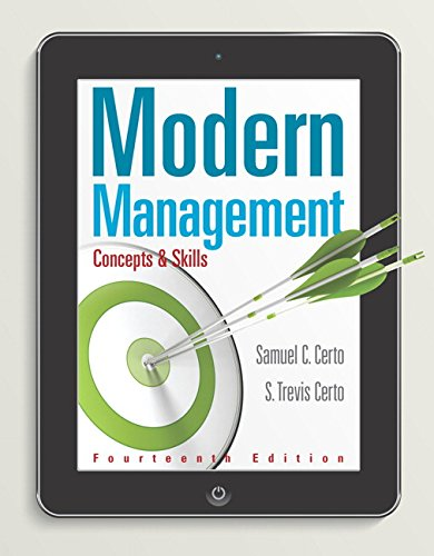 Modern Management: Concepts and Skills (14th Edition) - Standalone book