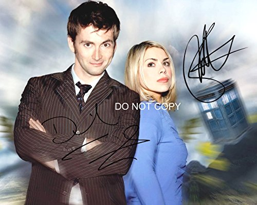 Doctor Dr. Who David Tennant & Billie Piper - Dr Who Signed
