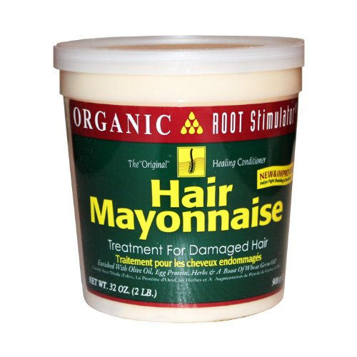 Organic Root Stimulator Hair Mayonnaise, 32 Ounce