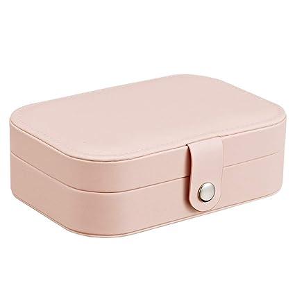 Caja multifuncional de joyería para viajes pequeños para ...