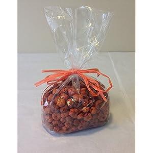 Orange Putka Pod Mini Pumpkins Fall Decorative Bowl Filler - Natural Dried Putka Pods 4 Cups 53