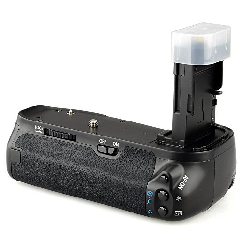 Mcoplus BG-6D Multi-power Vertical Battery Grip for Canon EOS 6D DSLR Camera Replacement as BG-E13 by Mcoplus