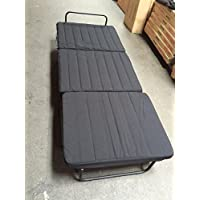 FOLDING BED FRAME WITH FOAM MATTRESS 3