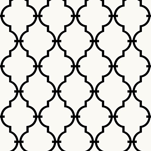 (RoomMates Modern Trellis Peel and Stick Wallpaper)