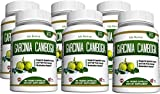 Garcinia Cambogia Weight Loss Supplement - Carb Blocker 95% HCA Pure Extract Fat Burner Diet Pills Appetite Suppressant Energy Booster for Health and Wellness Made in the USA, 6 Bottles 180 Capsules