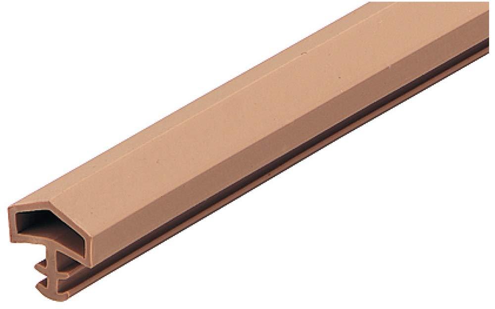 25 metros - puerta sello Door SEAL puerta M 680 para marcos de madera marco de la puerta sellos Beige costura ancho: 12 mm plástico suave PVC construcción ...