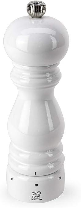 Peugeot Paris u Select Salzmühle, Holz, Weiß Lackiert, 5,7x 5,7x 18cm