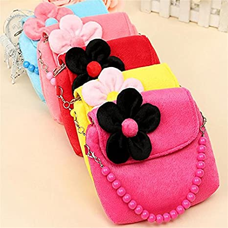 9227d37ac Westeng Kids Handbag Little Girl's Cute Princess Coin Purse Beaded Shoulder  Bag Package for Toddlers Preschoolers: Amazon.co.uk: Luggage