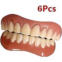 KK- Teeth 6 Piezas Dientes de Sonrisa instantánea