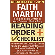 Faith Martin Reading Order and Checklist: The guide to the DI Hillary Greene series, the Loveday and Ryder books, and Jenny Starling books, plus novels written as Joyce Cato and Maxine Barry