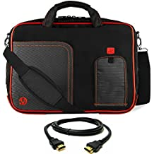 "VanGoddy Laptop Bag for HP ChromeBook / Omen / Spectre / Stream / Pavilion / Envy 14""-15.6inch + 8FT HDMI Cable"