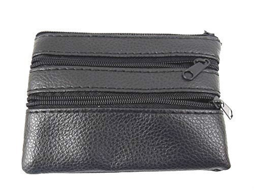 The Leather Emporium Men's Coin Change Pouch Credit Card Holder