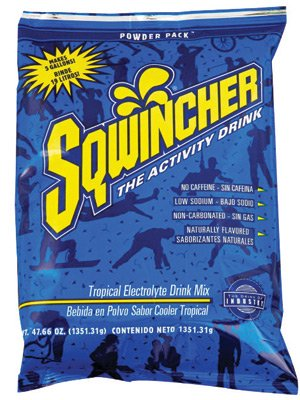Cooler Sqwincher Tropical (Sqwincher 47.66 Ounce Instant Powder Pack Tropical Cooler Electrolyte Drink -...)