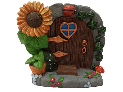Home Fashion Miniature Fairy Garden Mystical Gnome Home Door 3.5Inch