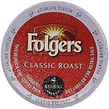 Folgers Classic Roast Coffee Keurig K-Cups, 72 Count