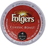 Folgers Classic Roast Coffee Keurig K-Cups, 72 Count