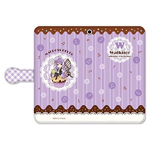 ぴくりる!  マクロスΔ 手帳型スマートフォンケース スイートポップ ワルキューレ 美雲・ギンヌメールの商品画像