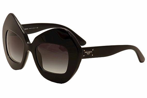 9bd994af6d6 Amazon.com  Dolce Gabbana DG4290 Sunglasses 501 8G-51 - Black Frame ...