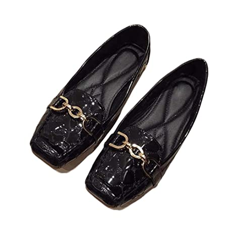 85922f6d3f660 Amazon.com: August Jim Women's Comfort Flats Shoes Women Loafers ...