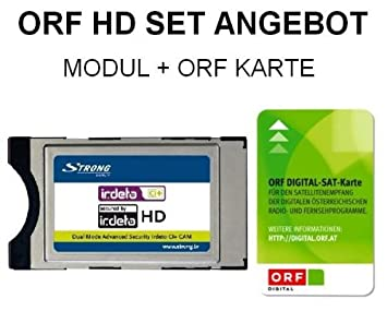 Strong Irdeto - Módulo CI+ CI Plus con tarjeta HD HDTV ORF ...