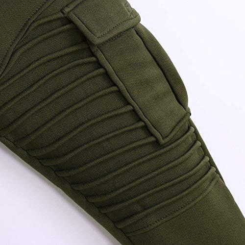 Armeegrün Pantalones De Ssige De Pantalones Regulares Hombre Mezclilla De Bo Cómodos De Para Tamaños Hombre Para Sólidos Chándal Pantalones Diseño Ropa De Regulares Pantalones Pantalones Deporte Deporte De Slim RfIBdIqw