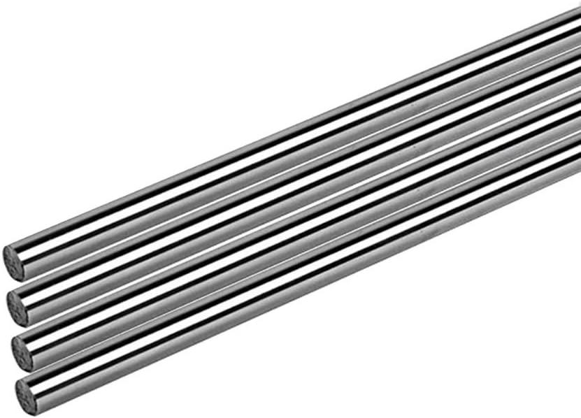 SOFIALXC Varilla De Acero Inoxidable Redondas, Utilizado para RC Coche Juguete Modelo-Diameter7mmx500mm 4pcs