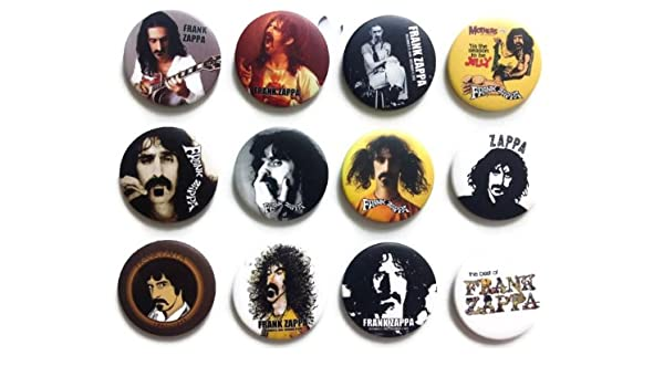 The Bigger Vivider 1.75 Lot 12 Awesome Pin Button Badge Frank Vincent Zappa #2
