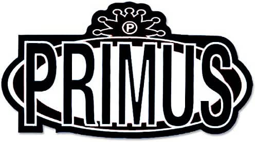 Classic Logo in Browns with Clear Background Square Deal Recordings and Supplies Primus Sticker//Decal Square Deal Recordings /& Supplies