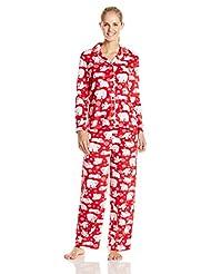 Karen Neuburger Women's Minky Fleece Pajama Set