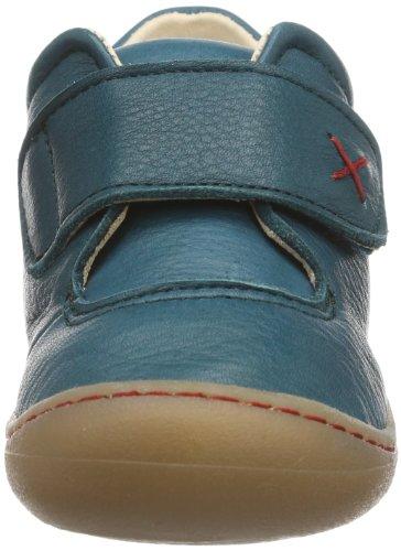 Pololo Primero caribbean 7-50-737 - Zapatos para bebé de cuero, color verde, talla 19 Verde (Grün (Caribbean 737))