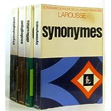 Dictionnaire de poche de la langue française, 4 volumes: Synonymes, difficultés, analogique, étymologique