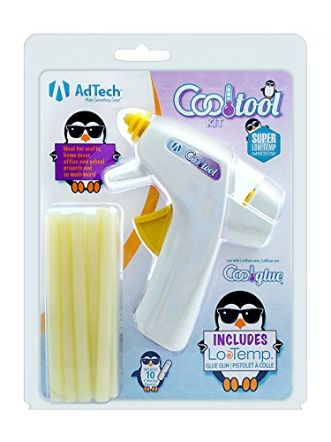 AdTech Ultra Low-Temp Cool Tool | Mini Hot Glue Gun for Safe Crafting | Children and Kids | Item #05690