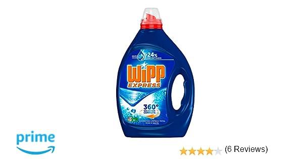 Wipp Express Detergente Líquido Azul - 31 Lavados (1.55 l): Amazon.es: Amazon Pantry